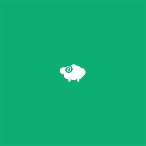 design icon cute flat sheep icon logo identity design pinterest
