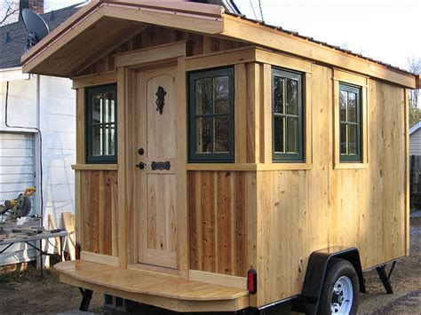 16 Wide Mobile Home Floor Plans a traveling carpenter s trailer the shelter blog