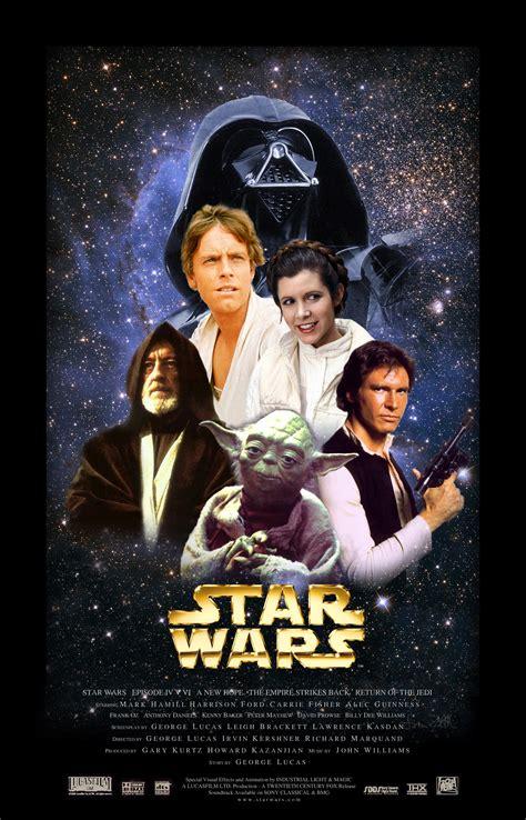film seri star wars classic movie posters cutandpayste