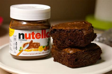 Nutella Brownis nutella brownie recipe we re calling shenanigans