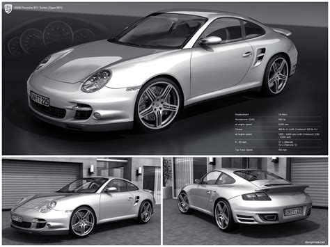 Making A Blueprint 2006 porsche 911 turbo by dangeruss on deviantart