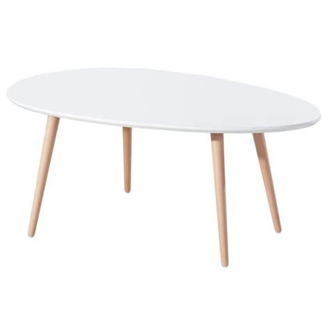 Table Basse Scandinave Pas Cher 2657 by Table Basse Scandinave Laqu 233 E Blanc Avec Pieds En