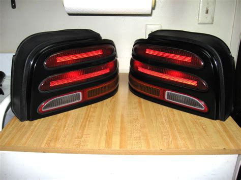 1994 mustang tail lights mustang 1994 1995 export taillight installation
