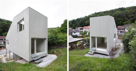 Small Homes Germany A Tiny House With A Folding Roof By Chris Heininge