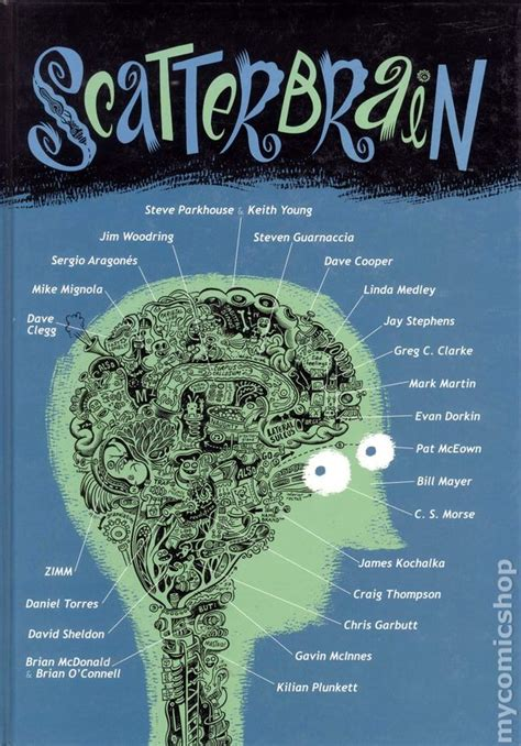 scatterbrain books scatterbrain hc 2001 comic books