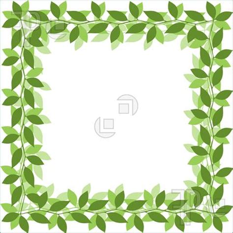 Jungle Leaves Template Cake Ideas And Designs Leaf Border Template