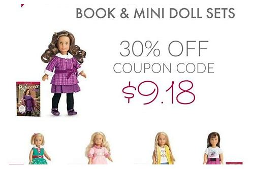 american girl doll coupons