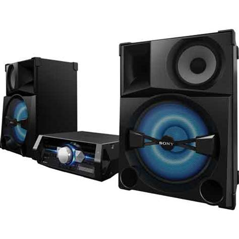 sony shake5 shelf top audio system with bluetooth 2400