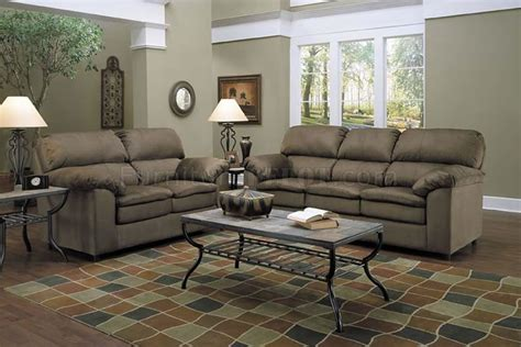 green living room sets suede sofa set 51440 acme zanthe ii padded suede recliner