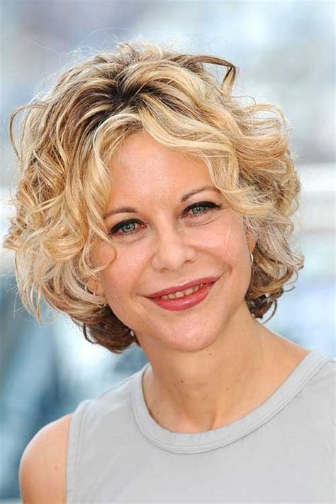 meg s new haircut 2013 meg ryan casual short curly hairstyle short hairstyle 2013
