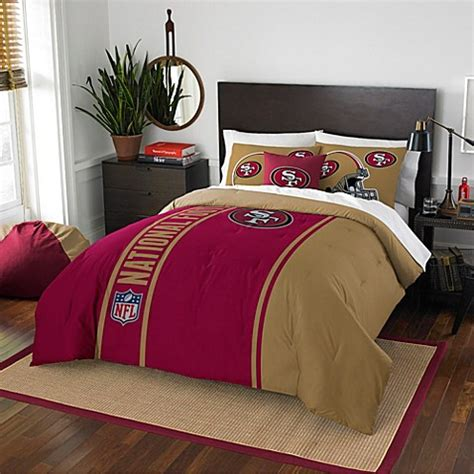 49er comforter nfl san francisco 49ers bedding bed bath beyond