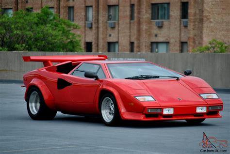 How Much Is A Lamborghini Countach 1980 Lamborghini Countach Prova V8 Chassis