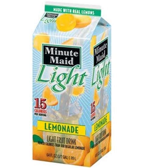 Minute Light Lemonade Calories by Anyone Else That Can T Drink Soda Sugary Drinks Anymore