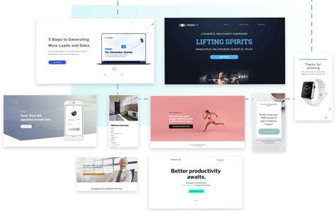 Leadpages 174 Landing Page Builder Lead Gen Software Leadpages Free Templates