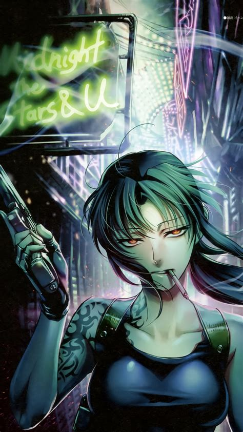wallpaper black lagoon hd black lagoon s revy galaxy s5 wallpaper 1080x1920