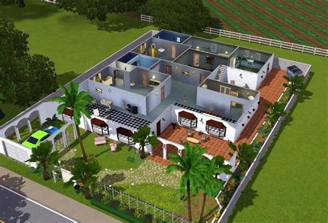 sims 3 house blueprints sims 3 houses plans escortsea