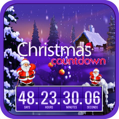 christmas clock screensaver free download christmas amazon com christmas countdown live wallpaper appstore