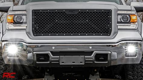 2015 gmc fog lights 2014 2015 gmc 1500 led fog light kit by