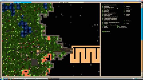 how to install dwarf fortress graphics pack let s play dwarf fortress tutorial episode 1 youtube