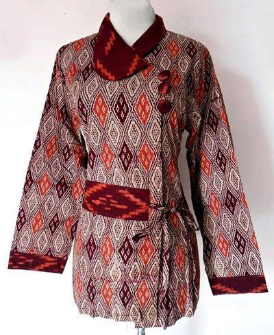 contoh model baju batik kerja wanita model baju terbaru model baju batik kerja wanita modern awal tahun 2016