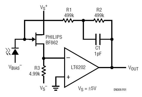 photodiode op solutions low noise low power photodiode lifier