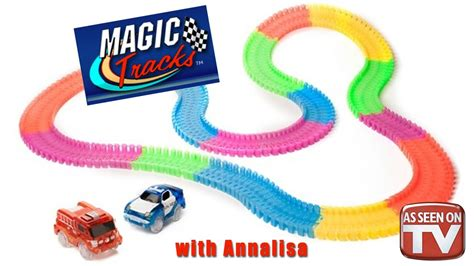 light up race track as seen on tv magic tracks as seen on tv toys 2016