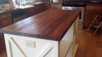 Unfinished Wood Kitchen Island photo gallery butcher block countertops stair parts