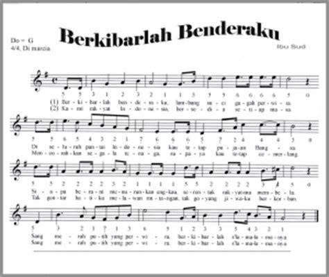 daftar lagu religi cari koleksi lagu terbaru pilihan not angka berkibarlah benderaku not angka lagu terbaru