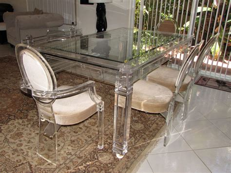 acrylic dining room table lucite dining room table lucite dining table at 1stdibs