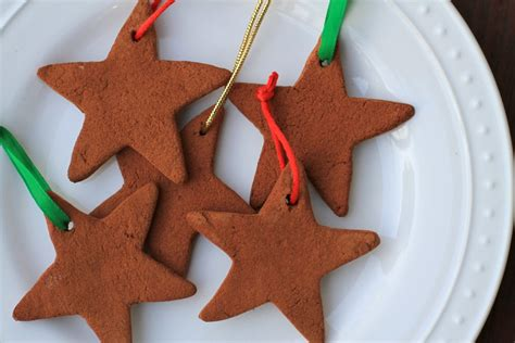 cinnamon ornaments how to make cinnamon applesauce ornaments the frugal