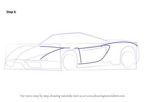 learn how to draw f1 car sports cars step by step learn how to draw a enzo sports cars step by