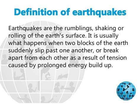 what are what are earthquakes