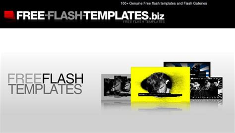 Free Flash Website Templates With Source Files