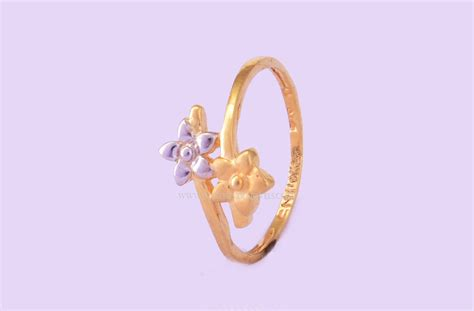Simple Gold Ring Design by Simple 22k Gold Ring Design South India Jewels