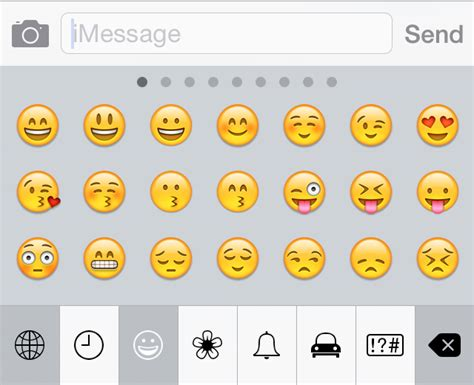 Emoticon Iphone image gallery iphone text faces