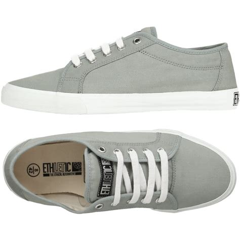 trade sneakers ethletic fairtrade skater shoes grey ethletic