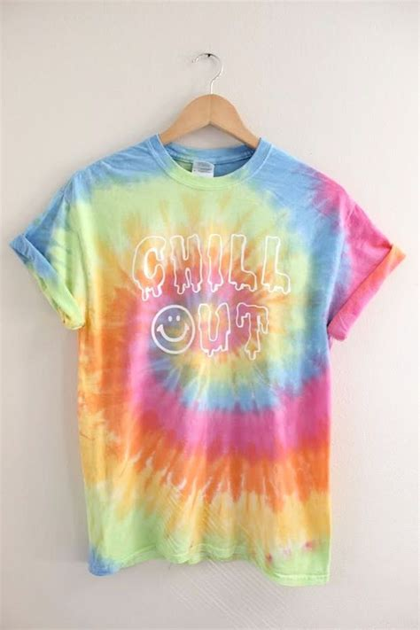 tie dye tattoo chill out pastel tie dye graphic unisex clothes