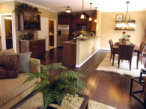 Flooring For Kitchen And Dining Room by Transitional Kitchen Photos Hgtv