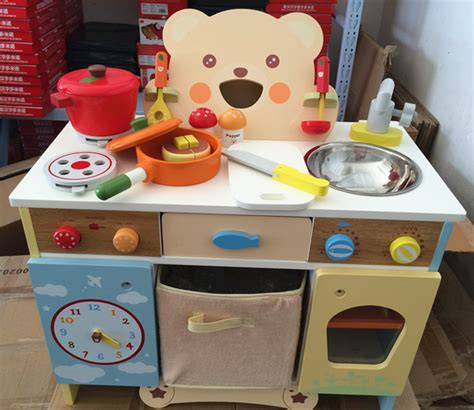 Kitchen Baby Baby Toys Kitchen Set Wooden Toys Japan