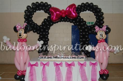 Minnie Mouse Birthday Decoration Ideas by Garcia