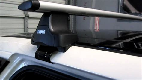 Thule 480r Traverse Aeroblade Roof Rack by Ford Edge With Thule 480r Traverse Aeroblade Base Roof