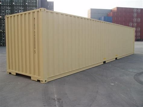 40 foot storage container for sale 40 dv ral 1001 shipping containers