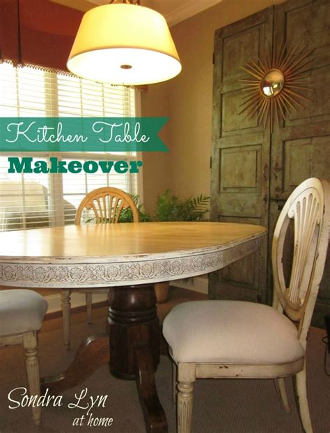 how to redo a kitchen table my kitchen table redo lyn at home