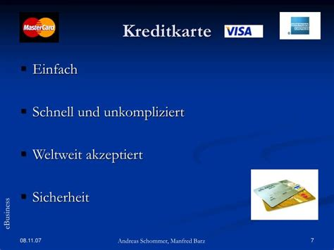 nachteile kreditkarte verkäufer ppt ebusiness powerpoint presentation id 3821965