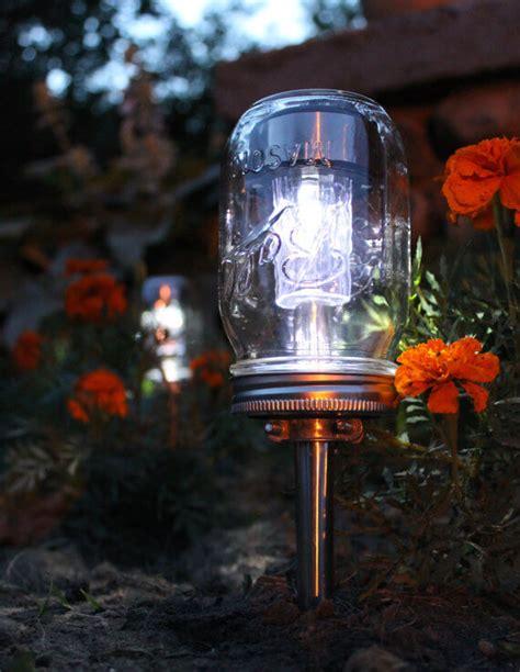 solar garden lights photograph jar solar garden ligh