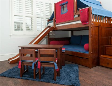 loft beds with slide boy twin loft bed with slide blue great idea of boy twin loft bed with slide
