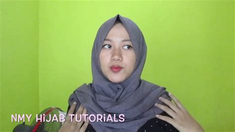 tutorial berhijab tanpa ninja tutorial hijab tanpa ninja tips pashmina menutup dada dan