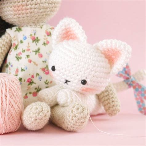 pattern amigurumi cat amigurumi crochet cat pattern only english by