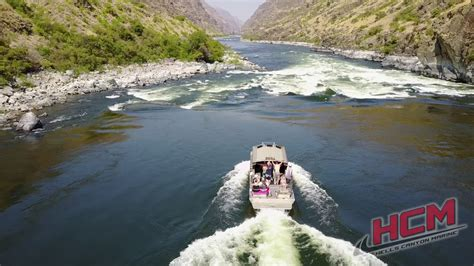 hcm jet boats hcm jet boats in hells canyon youtube