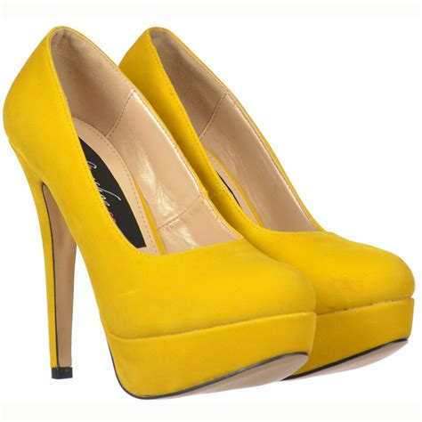 yellow high heel shoes onlineshoe high heel stiletto platform shoes